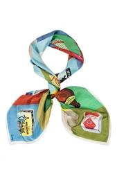 Шелковый платок «Про-питание» Gourji