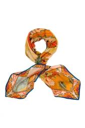 Шелковый платок «Настурция» Gourji