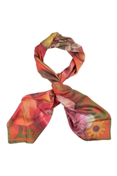 Шелковый платок «Яблоки» Gourji