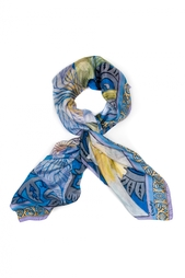 Шелковый платок «Ирис» Gourji