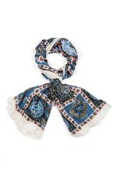 Кашемировый платок «Голуби» Gourji