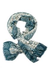 Кашемировая шаль «Русский орнамент» Gourji