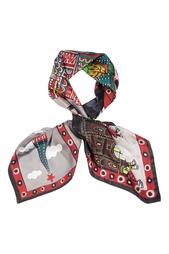 Шелковый платок «Красная площадь» Gourji