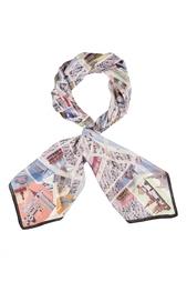 Шелковый платок «Москва» Gourji