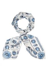 Шелковый платок «Гжель» Gourji