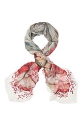 Кашемировый платок «Фонтан Сельсебиль» Gourji