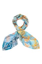 Шелковый платок «Праздник весны» Gourji