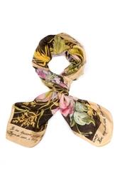 Шелковый платок «Букет» Gourji