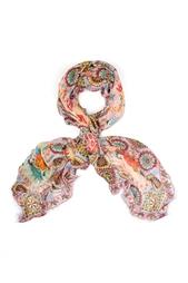 Кашемировый платок «Дымковские игрушки» Gourji