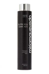 Бриллиантовая маска-люкс с платиной для волос Platinum & Diamonds Luxurious 250ml Miriamquevedo