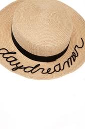 Шляпа из пеньки и хлопка Brigitte 'Daydreamer' Eugenia Kim