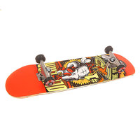 Скейтборд в сборе Flip S6 Oliveira Comix Regular Orange 31.63 x 7.75 (19.7 см)