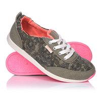 Кеды кроссовки низкие женские Roxy Zuma Shoe Camo