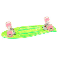 Скейт мини круизер Turbo-FB Cruiser Transparent Green 5.75 x 22 (55.8 см)