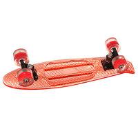 Скейт мини круизер Turbo-FB Cruiser Transparent Red 5.75 x 22 (55.8 см)