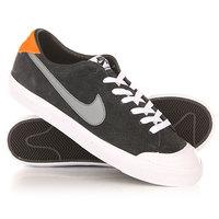 Кеды кроссовки низкие Nike SB Zoom All Court Ck Black/Grey/Orange