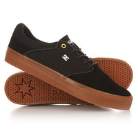 Кеды кроссовки низкие DC Shoes Mikey Taylor Vulc Black/Gum