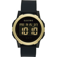 Электронные часы женские Electric Prime Silicone Black/Gold