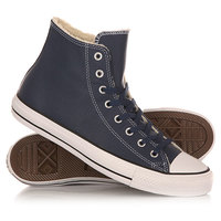 Кеды кроссовки утепленные Converse Chuck Taylor All Star Hi Nighttime Navy