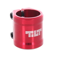 Зажимы Tilt Arc Double Clamp Red