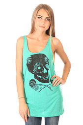 Майка женская Volcom Back Tank Top Bright Turquoise