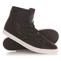 Кеды кроссовки высокие женские Volcom Buzz Shoe Black