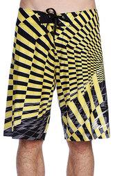 Пляжные мужские шорты Oakley Blade Boardshort Black/Yellow