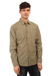 Рубашка Burton Mb Glade Chambray Olive