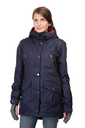 Куртка женская Roxy Kj Tribe Jk Peacoat