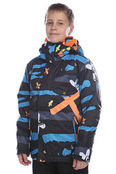 Куртка детская Quiksilver Mission Printed Youth Caviar