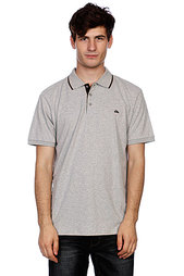 Поло Quiksilver Push It Light Grey Heat