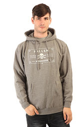 Толстовка кенгуру Fallen 100 Proof Pullover Hoody Heat Grey