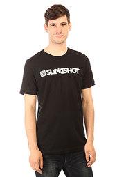 Футболка Slingshot Branded Tee Black