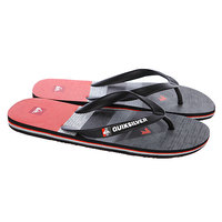 Шлепанцы Quiksilver Molokai Slater Grey/Black/Red