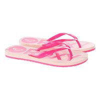 Шлепанцы женские Roxy Kiwi Pink