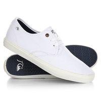 Кеды кроссовки низкие Quiksilver Shorebreak White
