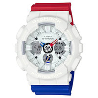 Электронные часы Casio G-Shock Ga-120trm-7a White/Red/Blue