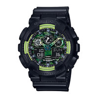 Электронные часы Casio G-Shock Ga-100ly-1a Black/Green