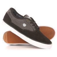 Кеды кроссовки низкие Circa Essential Black/Shale