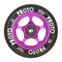 Колесо для самоката Proto 110 Мм Slider Black On Purple