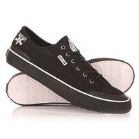 Кеды кроссовки низкие Huf Classic Lo Black Canvas