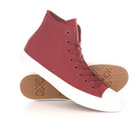 Кеды кроссовки высокие Converse Chuck Taylor All Star Ii Core Burgundy
