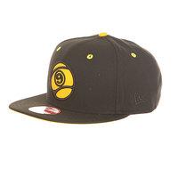 Бейсболка с прямым козырьком Sector 9 9 Ball Snapback Black