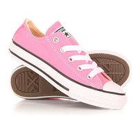 Кеды кроссовки низкие детские Converse Chuck Taylor All Star Pink