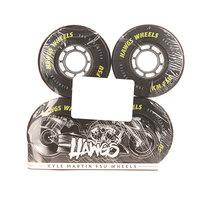 Колеса для скейтборда для лонгборда Landyachtz Pre Packaged Kyle Martin Fsu Hawgs Black 80A 70 mm