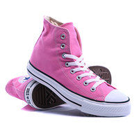 Кеды кроссовки высокие Converse Chuck Taylor As Core Unisex Canvas Hi M9006 Pink