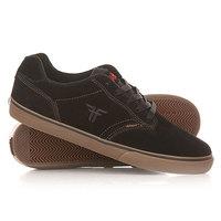 Кеды кроссовки низкие Fallen Slash Black/Gum
