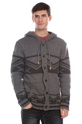 Кардиган Quiksilver Conway Med Grey Heather
