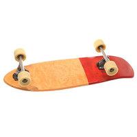 Скейт круизер Globe Stubby Half Dip Natural/Red 10 x 30 (76.2 см)