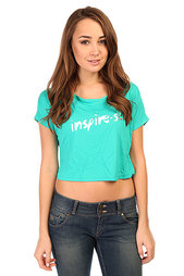 Топ женский CajuBrasil Croptop Interflat Blue